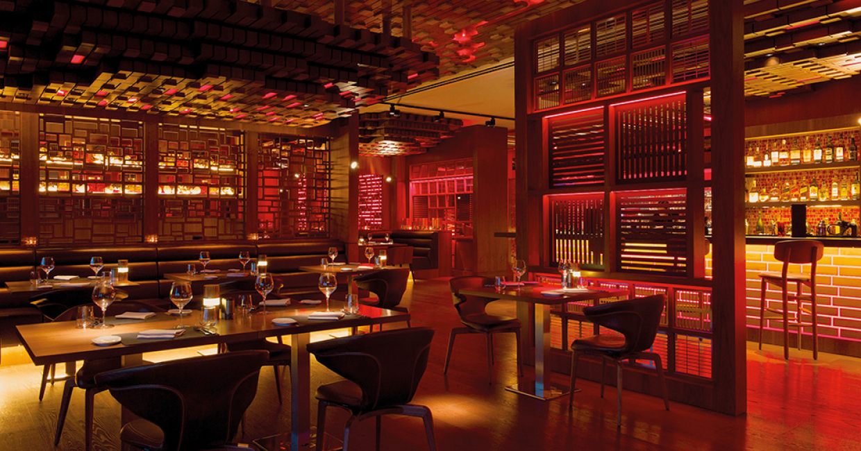 Fireworks Steakhouse at the JW Marriott Absheron in Baku