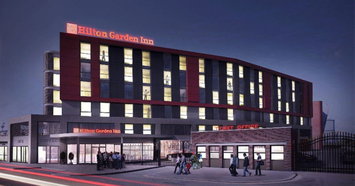 Planning Approval Granted For Hilton Garden Inn At Old Trafford Hospitality Interiors Magazine