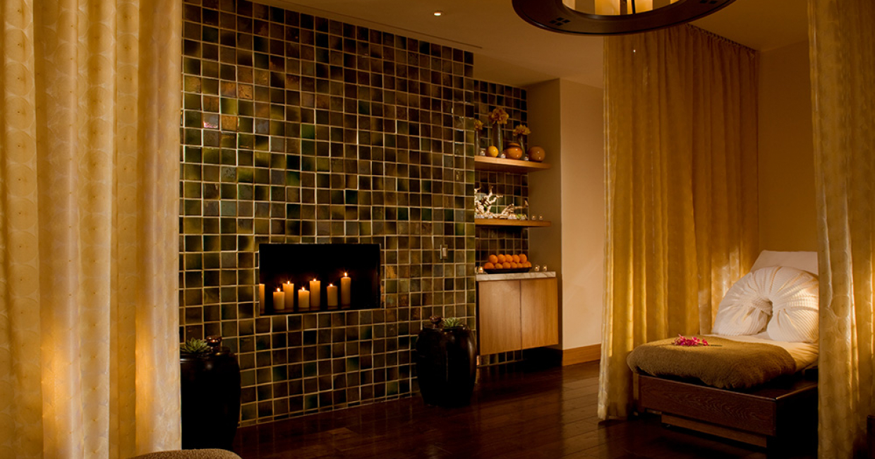The Peninsula Chicago Spa Relaxation Area