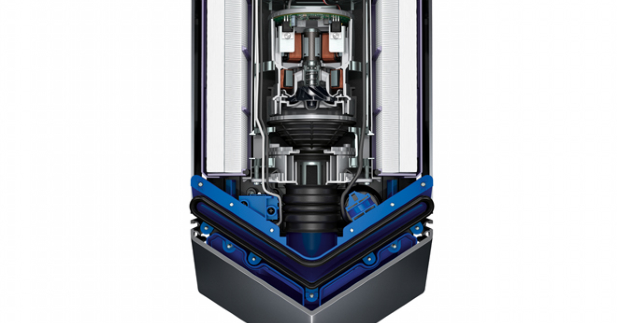 Dyson engineers have concentrated Dyson Airblade technology without compromising drying performance