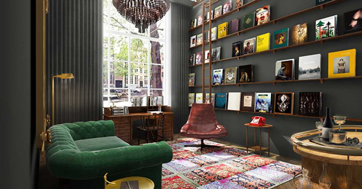 jacu strauss leads restoration of pulitzer amsterdam. Black Bedroom Furniture Sets. Home Design Ideas