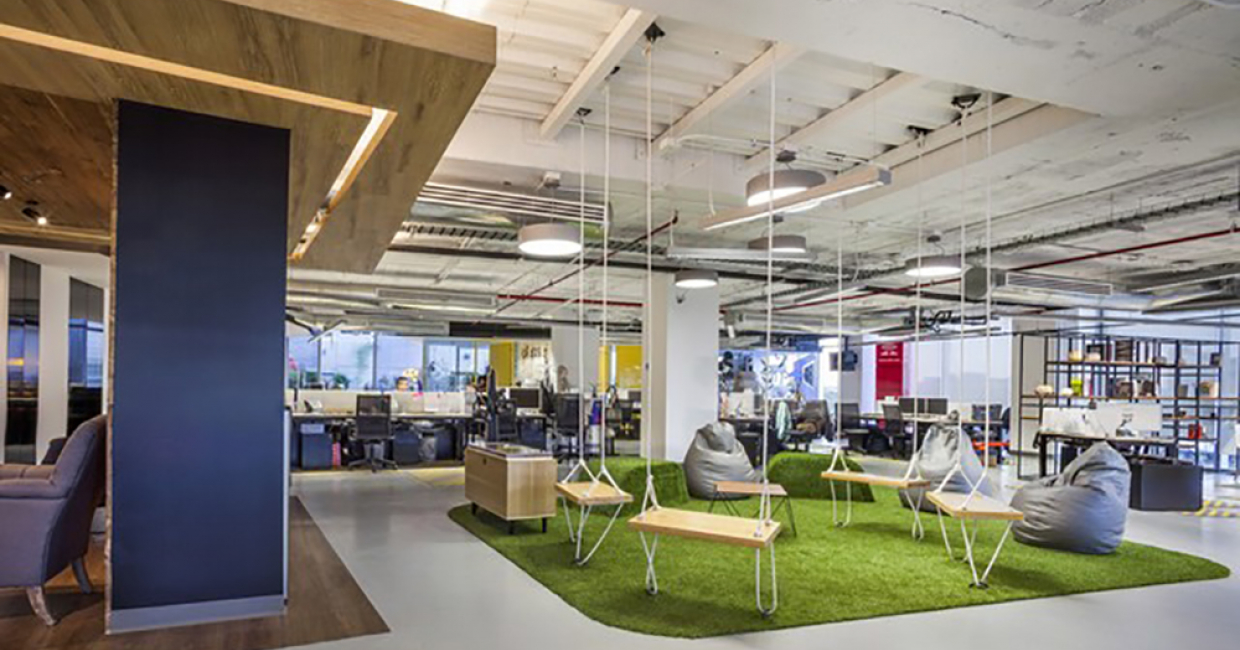 Office Space: Red Bull, Space