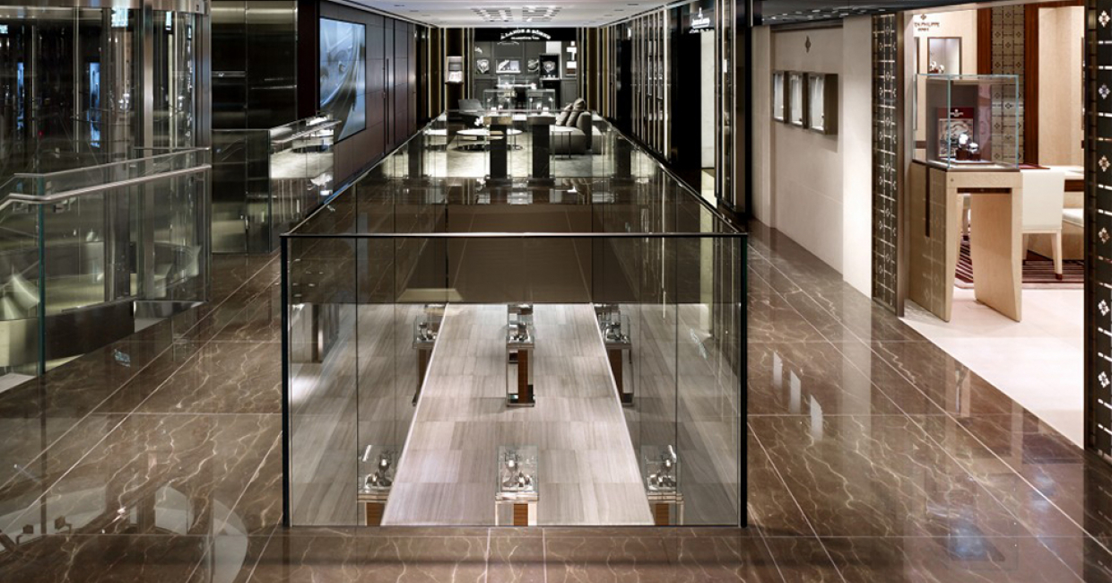 Retail Design: Watches of Switzerland, Regent Street, Callison