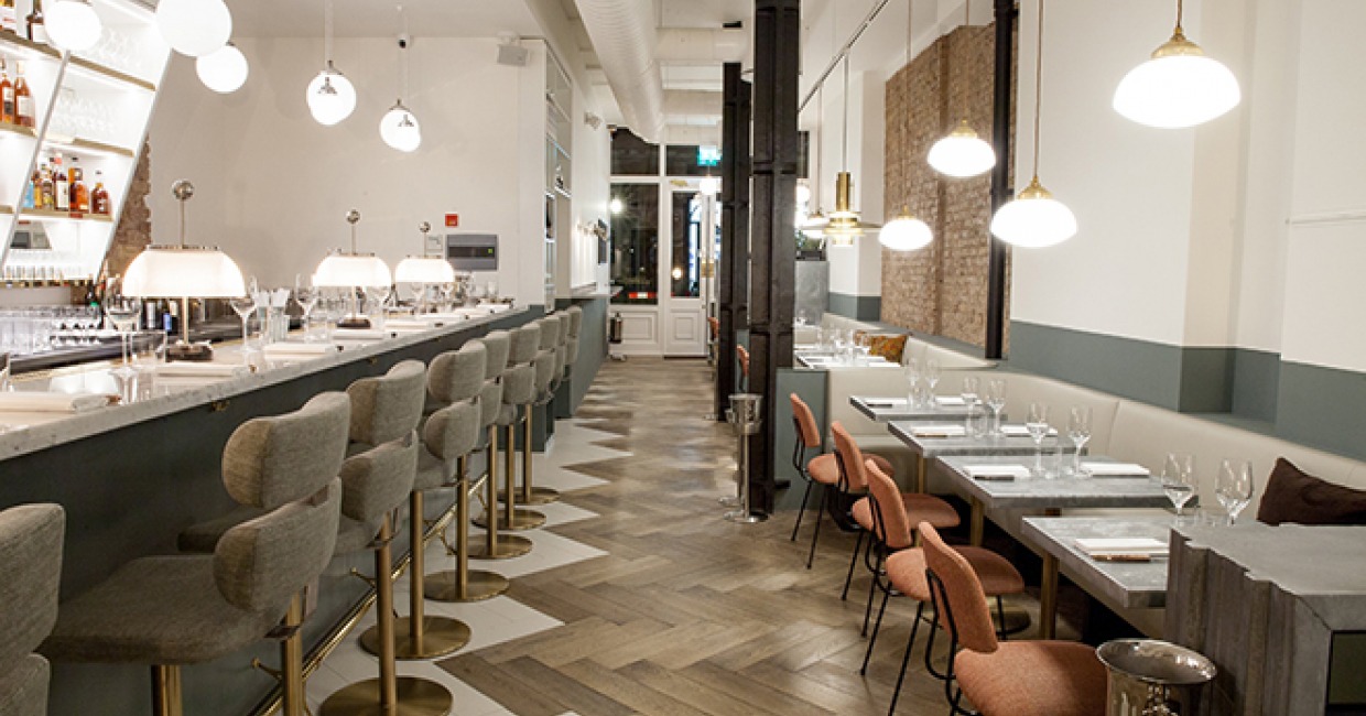 Husband and wife team, Greg and Marie Marchand, have now opened Frenchie in Covent Garden - their first site outside of Paris