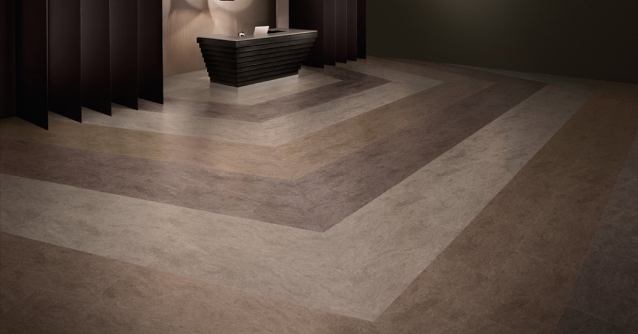Consistent or creative Amtico flooring has it covered