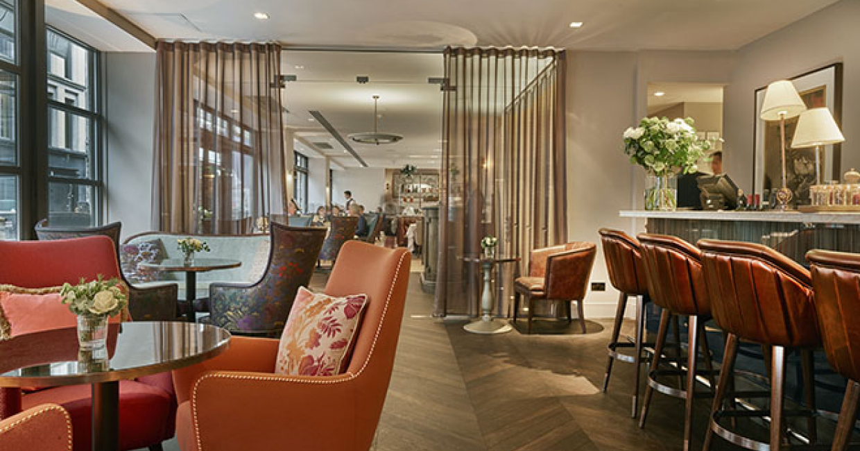 Specialist stone and tile consultancy, paolo.interiors, has recently contributed to the refurbishment of renowned Savile Row restaurant, Sartoria