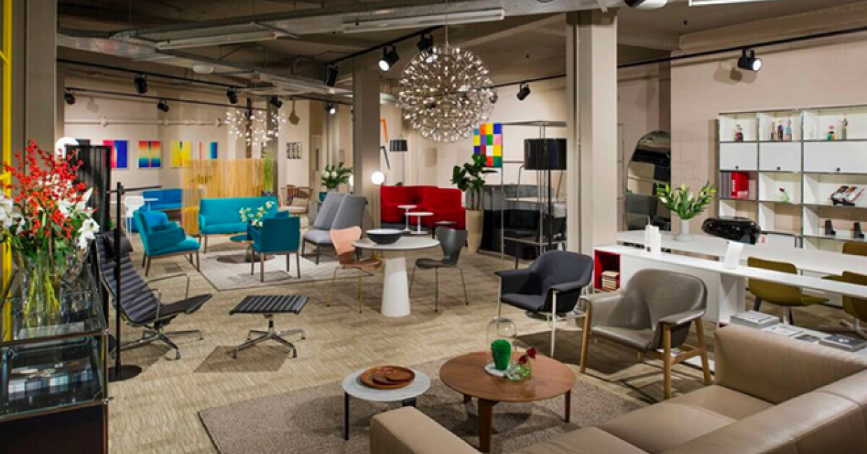 Furniture and lighting design company, Aram, has opened a new space at its Covent Garden showroom, devoted entirely to its contract offer