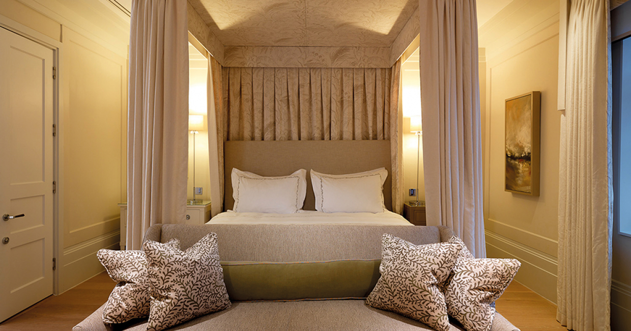 Guest room, Coworth Park