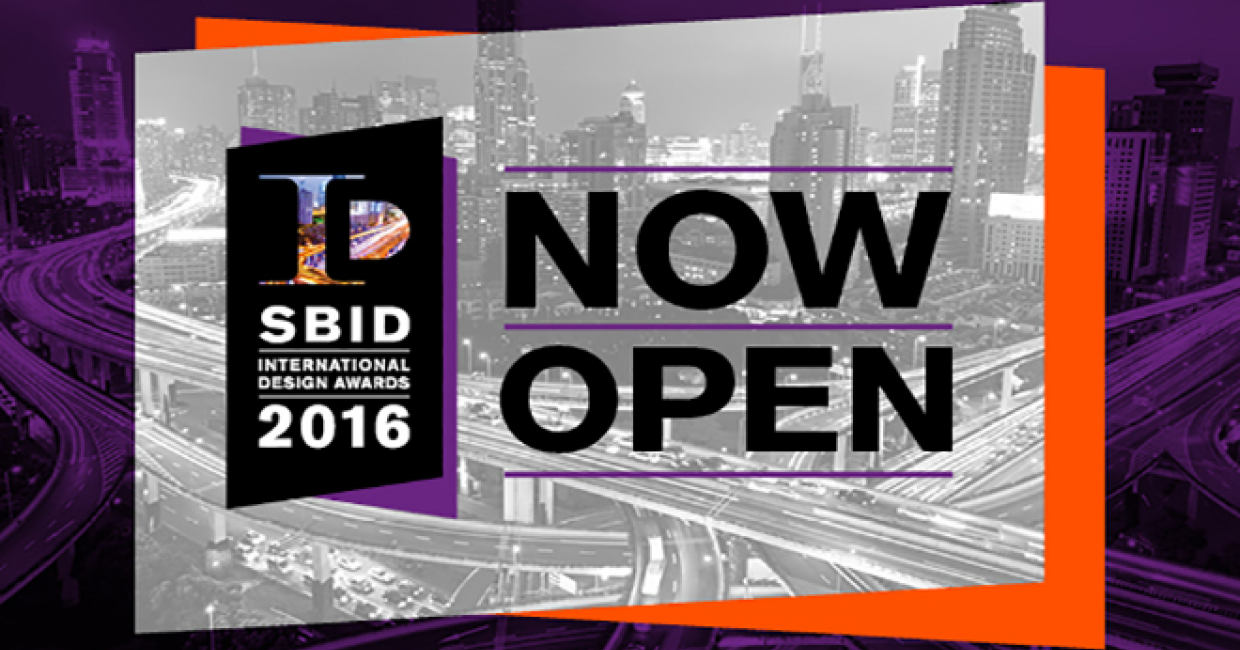 The 2016 SBID International Design Awards is now open for submissions