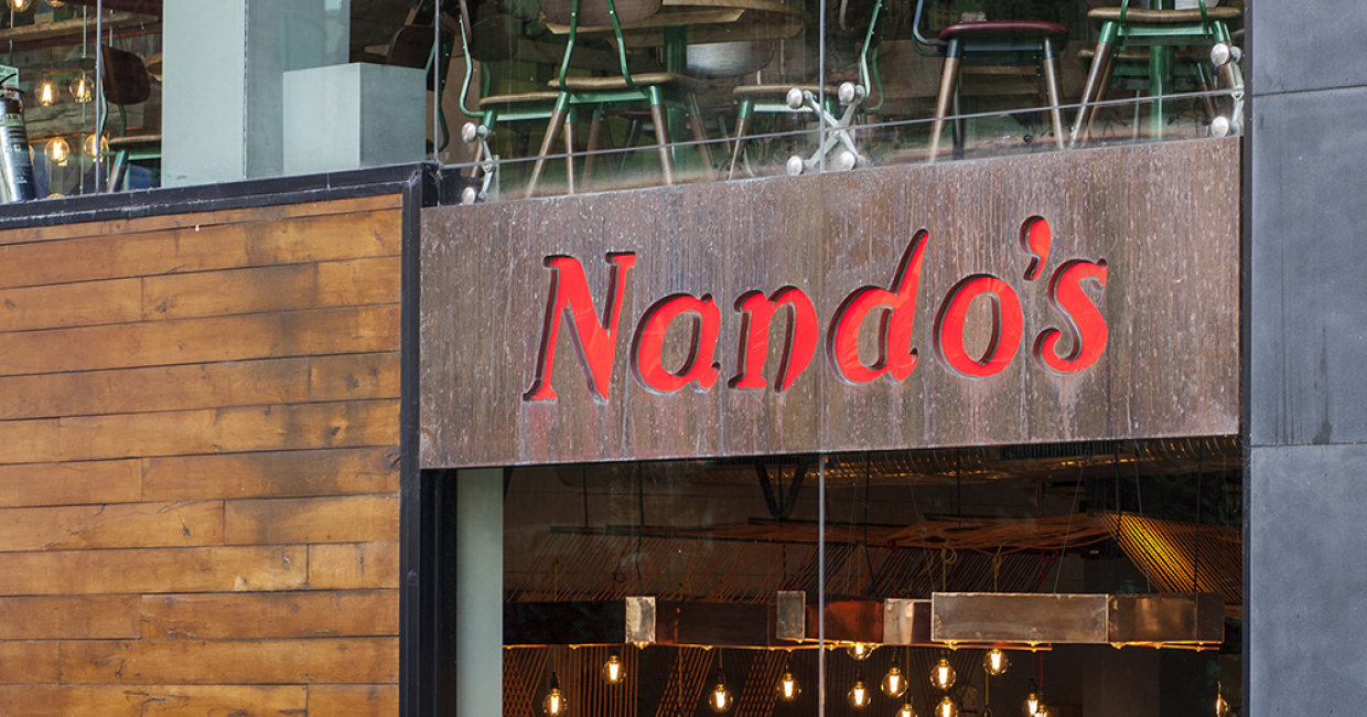 Bright Goods LED Filament Lamps Rule The Roost At Nando's