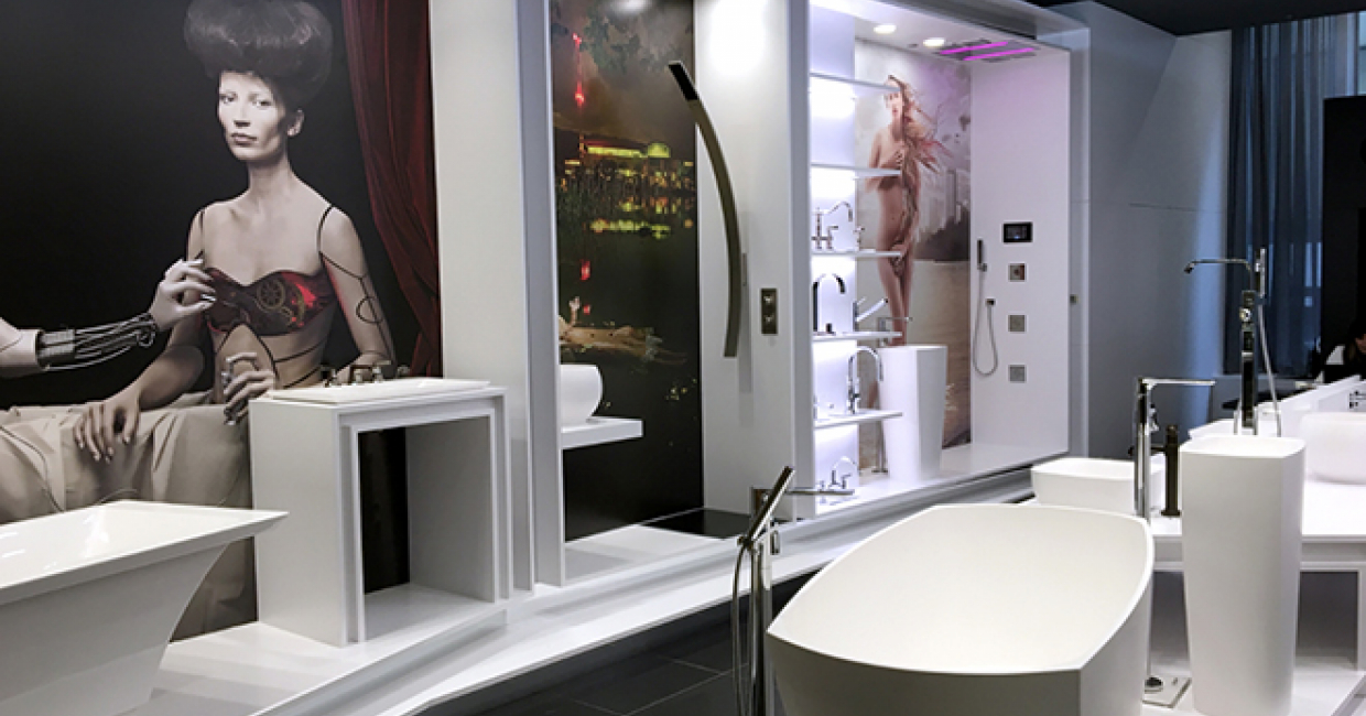 GRAFF, European manufacturer of contemporary precision-engineered bath and kitchen products, has opened it's first US showroom in the LuxeHome section of The Merchandise Mart in Chicago