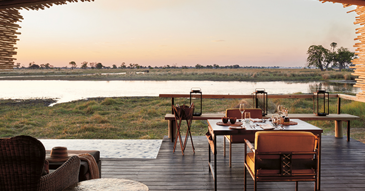 The Gallery HBA has redesigned Belmond Eagle Island Lodge in Botswana, re-affirming its reputation as one of the country's leading luxury safari lodges and the ultimate Okavango Delta water-based safari