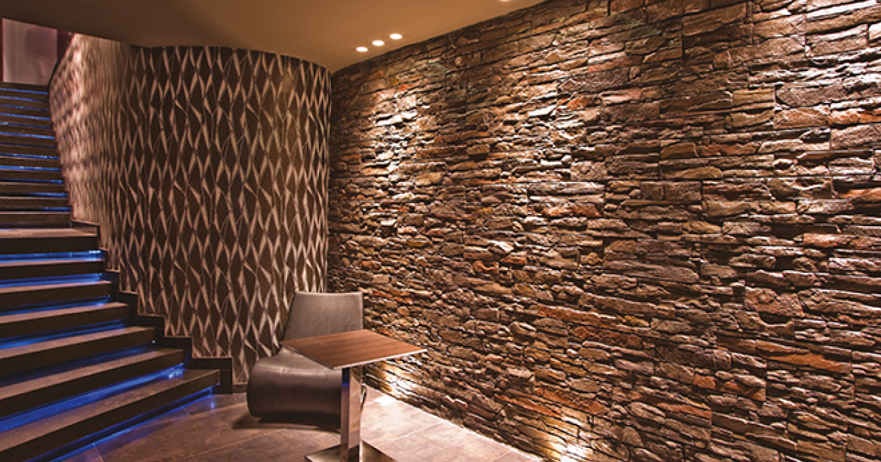 The practical benefits of natural stone focus on its durability and practicality, making it ideal for hospitality managers looking for materials that last longer than carpets