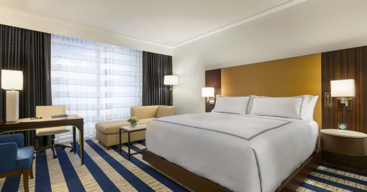Warren Sheets Design (WSD), interior designer for Fairmont Austin, has unveiled an early preview of its resplendent guest rooms