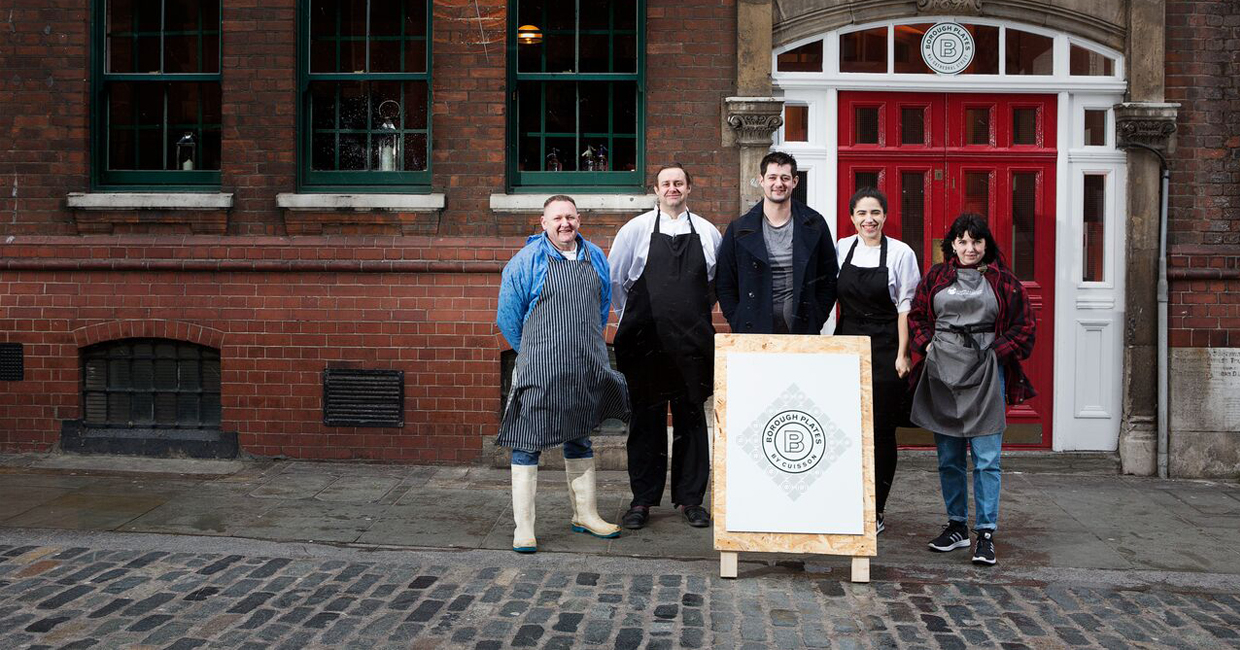 This January, Borough Market will launch its very own restaurant, Borough Plates, on Cathedral Street