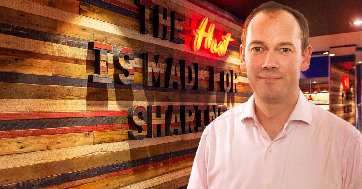 Henry Birts, Deputy Managing Director, Pizza Hut Restaurants