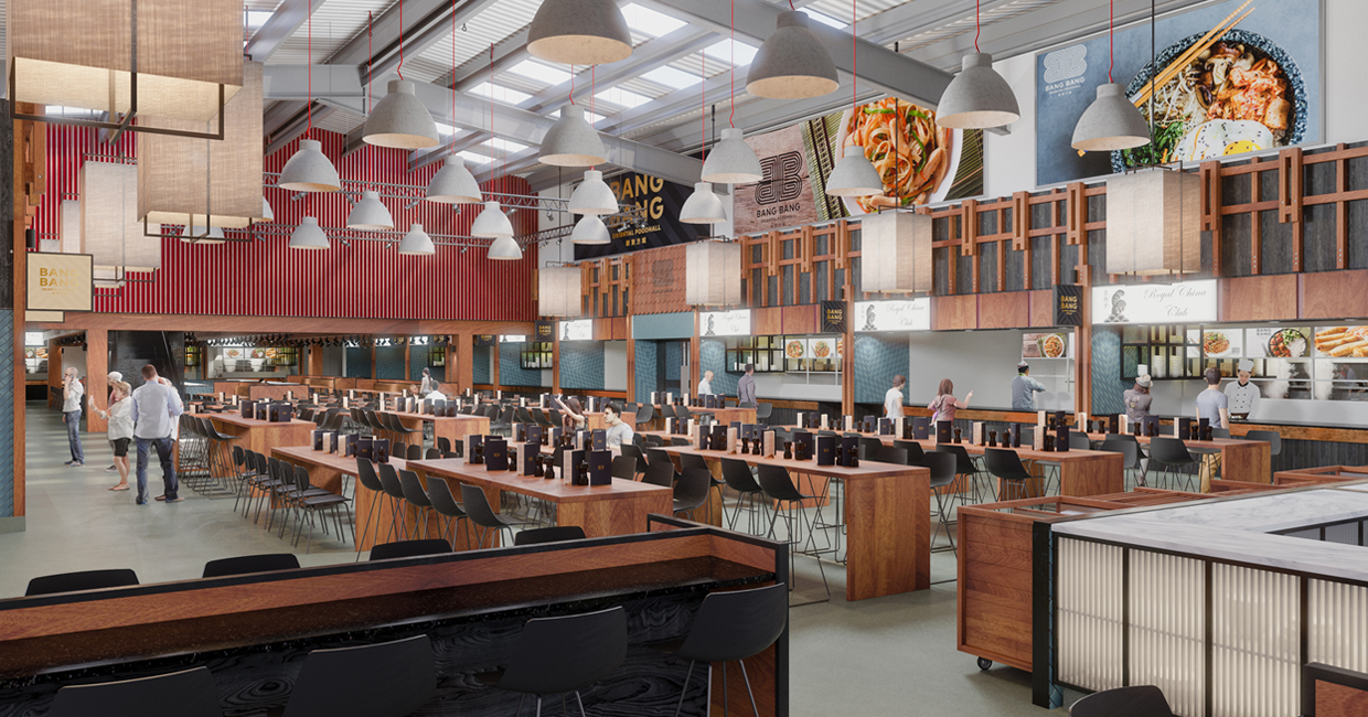 The highly anticipated Stiff + Trevillion-designed Bang Bang Oriental will open this Julyin North London