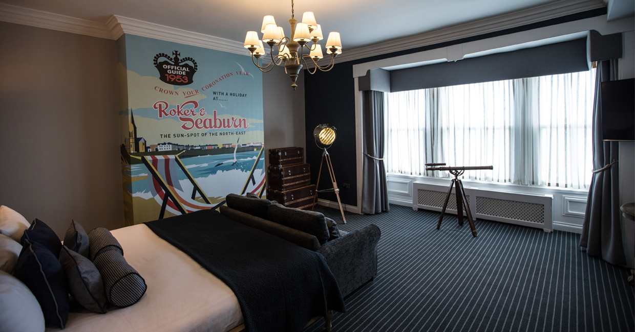 Sunderland's Roker Hotel has completed the latest stage in a £1m refurbishment, entailing the redesign of its 43 en-suite rooms