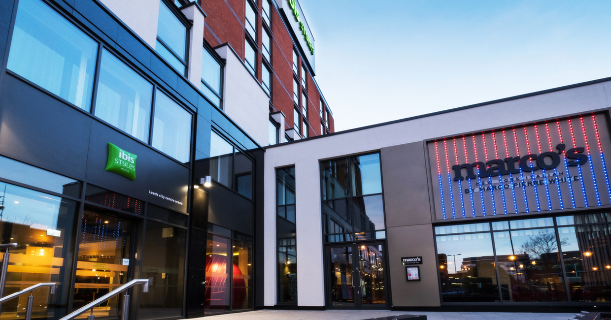 A new multi-million pound hotel and restaurant complex has opened its doors this week, adding to the 'rapid renaissance' of Leeds' Arena Quarter