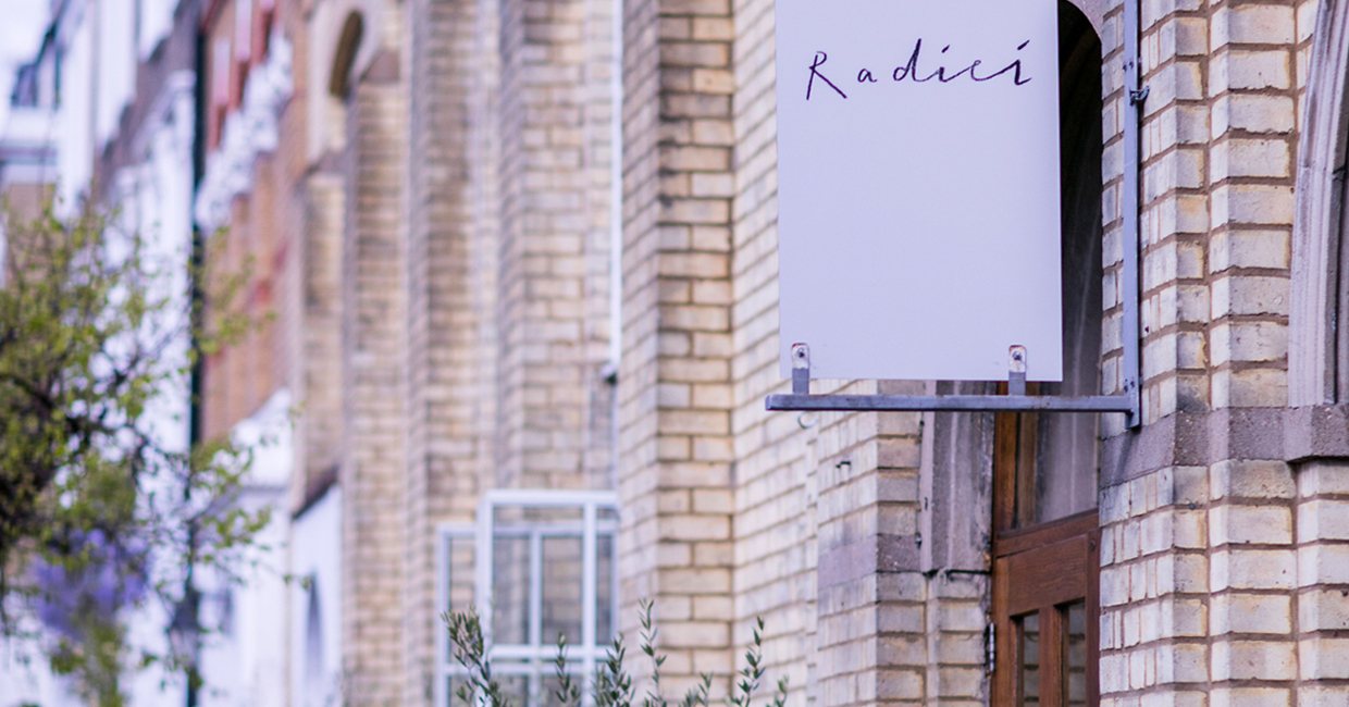 Francesco Mazzei has now opened his authentic Italian trattoria,Radici, in Islington - the area of London he has made his home