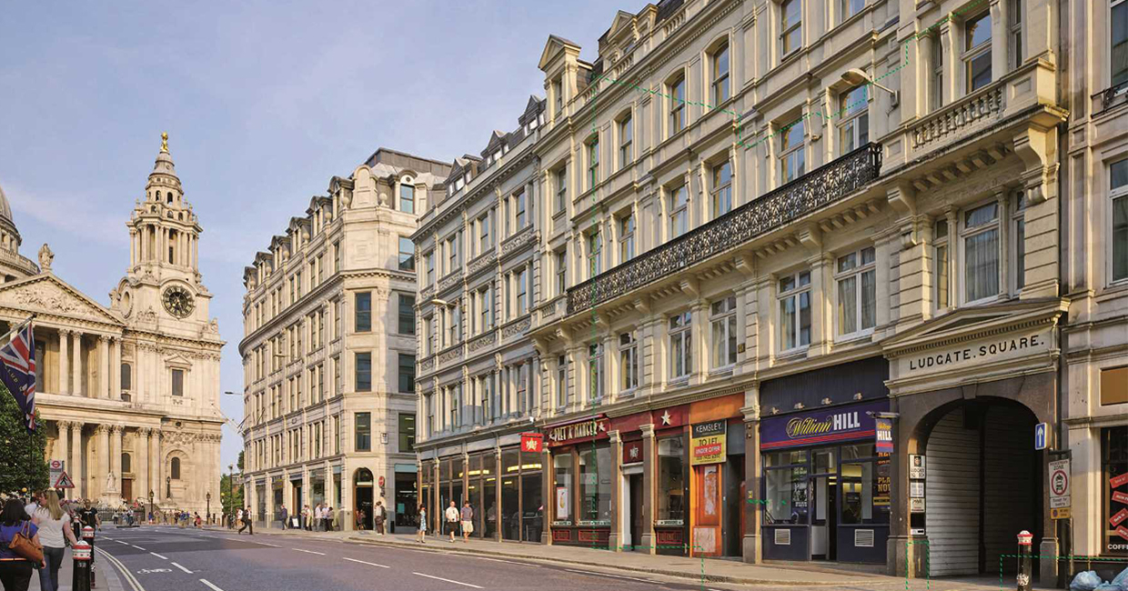 Dominvs Group has been granted planning consent from the City of London Corporation for an 82,500 square foot hotel on Ludgate Hill, situated near St Paul's Cathedral