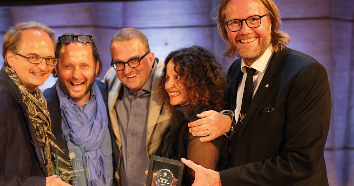 Swedish conceptand design agency, Stylt Trampoli, has beenawarded the prestigious Prix Versailles for the interior design at Spedition Hotel & Restaurant in the Swiss town of Thun