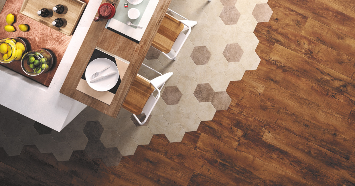 Flooring trends being dished up in restaurant design