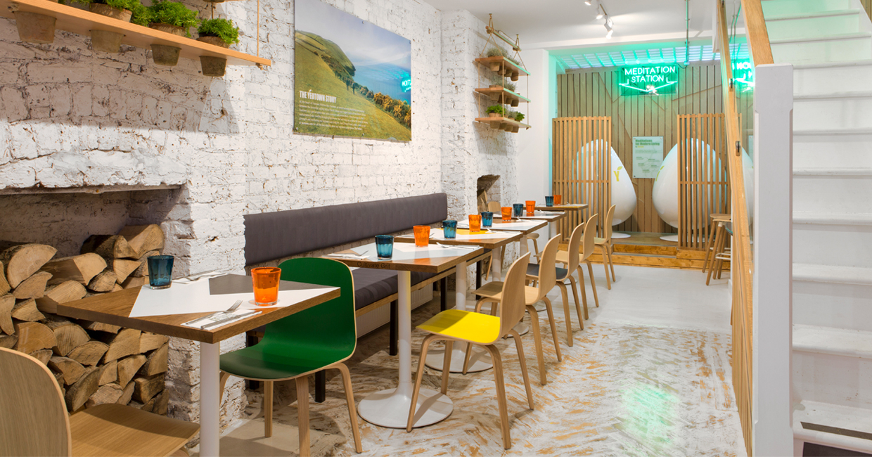 Yeotown 39 S Mindful Kitchen Concept Arrives In Marylebone Hospitality Interiors Magazine
