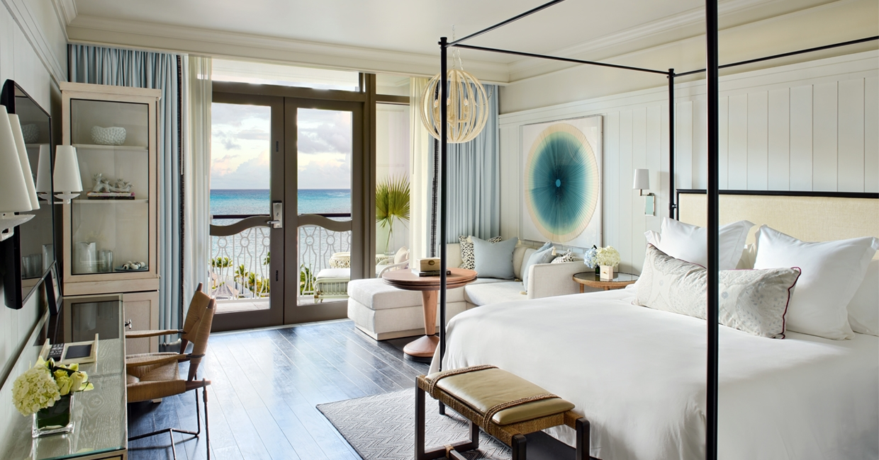 Wimberly Interiors creates elegant interior for new Bahamas resort