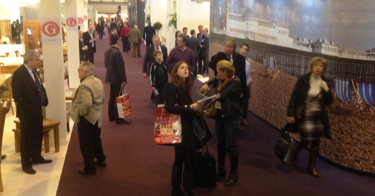 More than 24,000 visitors braved the treacherous weather to visit Interiors UK