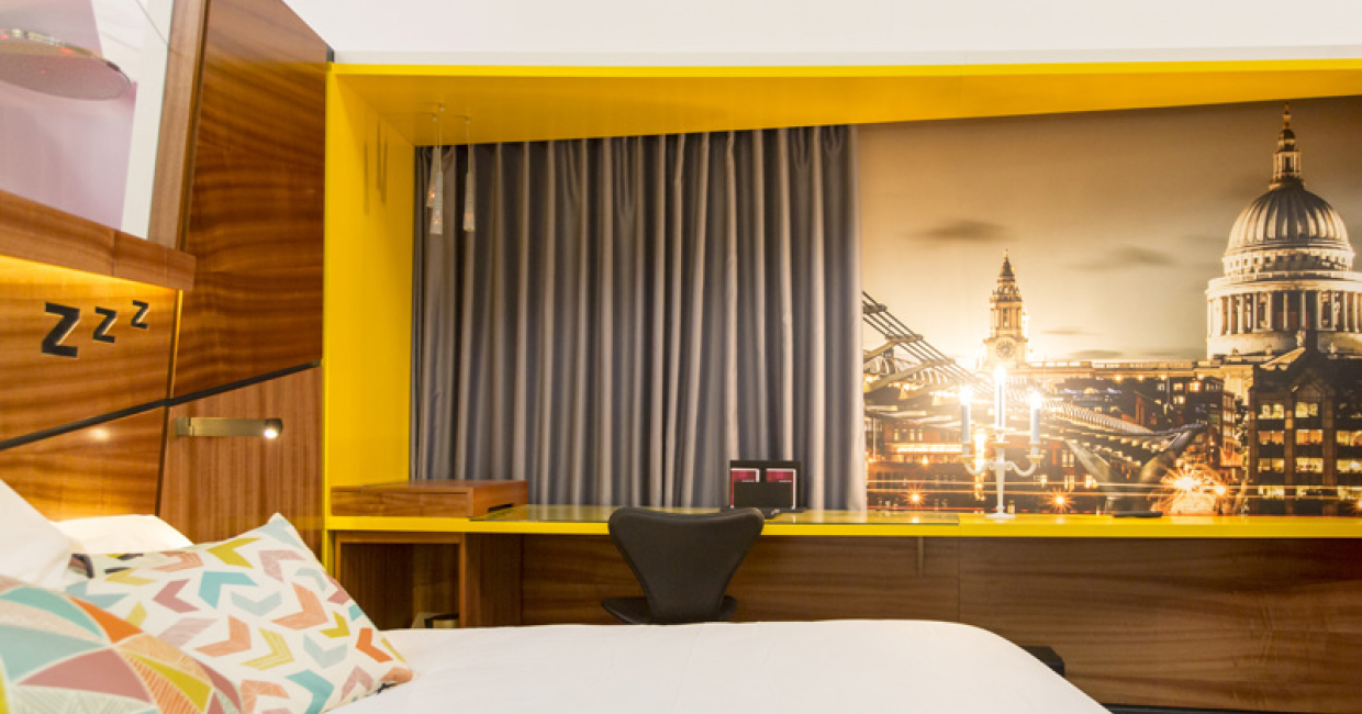 Sleep Hotel: Pop In – Roll Out! by Purpose Design