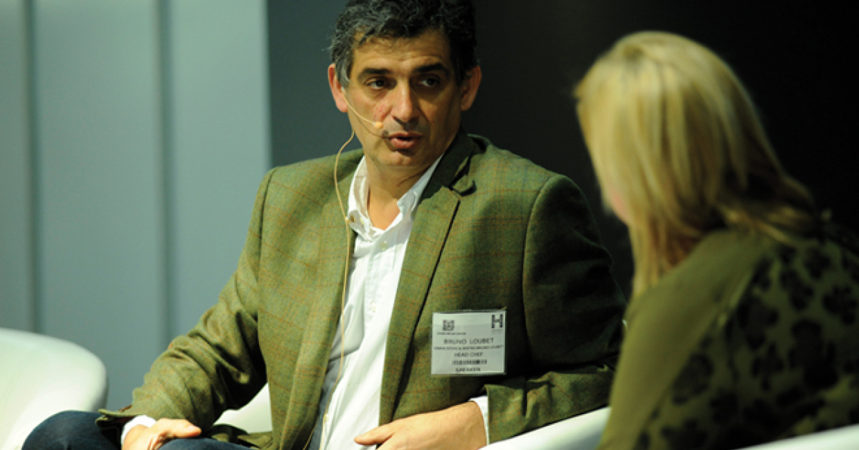 Chef Bruno Loubet – the brains behind critically acclaimed restaurant Grain Store in London's King's Cross