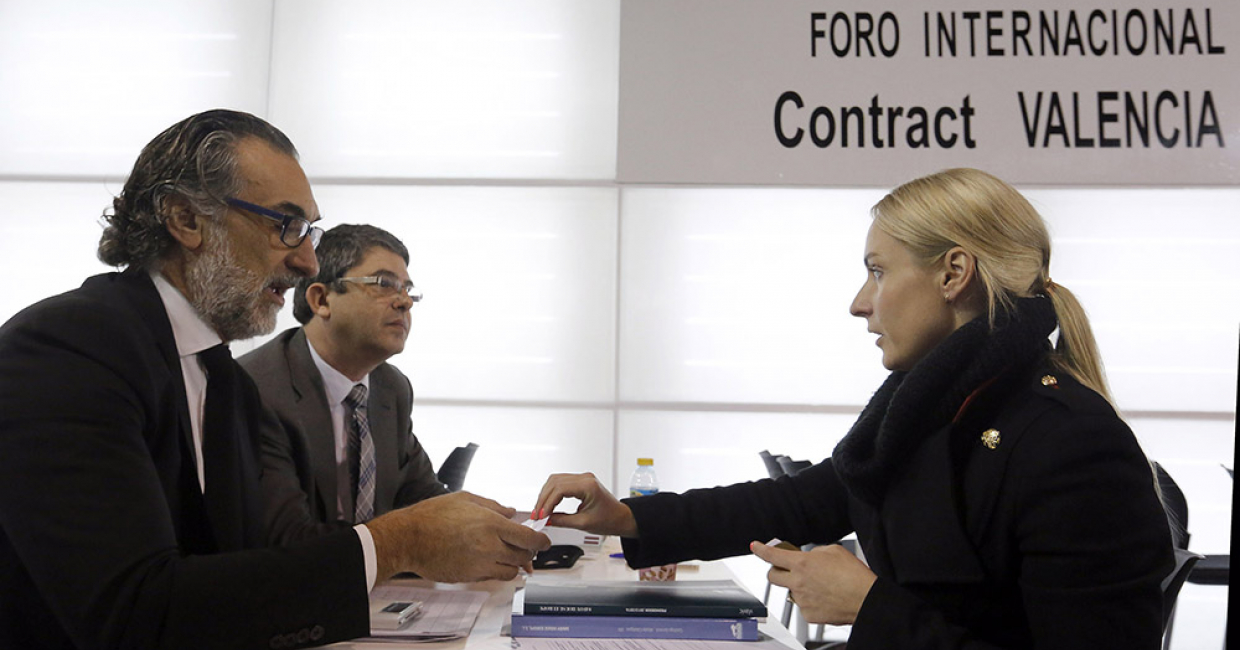 Feria Valencia will be the setting of the fourth edition of the Contract International Forum to be held on 2nd-4th February 2016