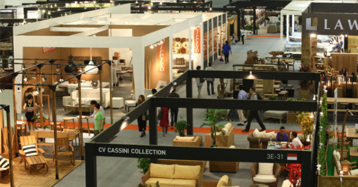 International furniture fair singapore iffs for Furniture exhibition