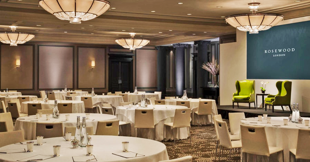 Hospitality Leadership & Design Conference will take place at Rosewood London