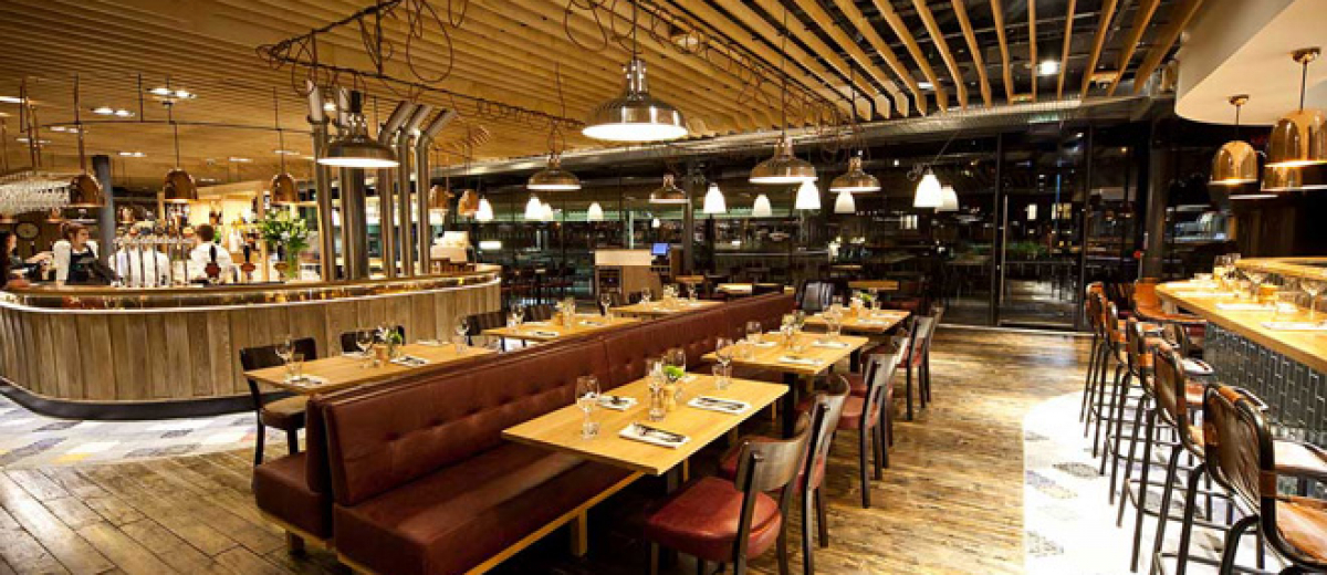 Restaurant interior design awards joy studio