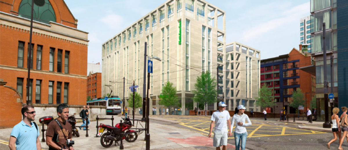 IHG begins work on Holiday Inn Manchester – City Centre
