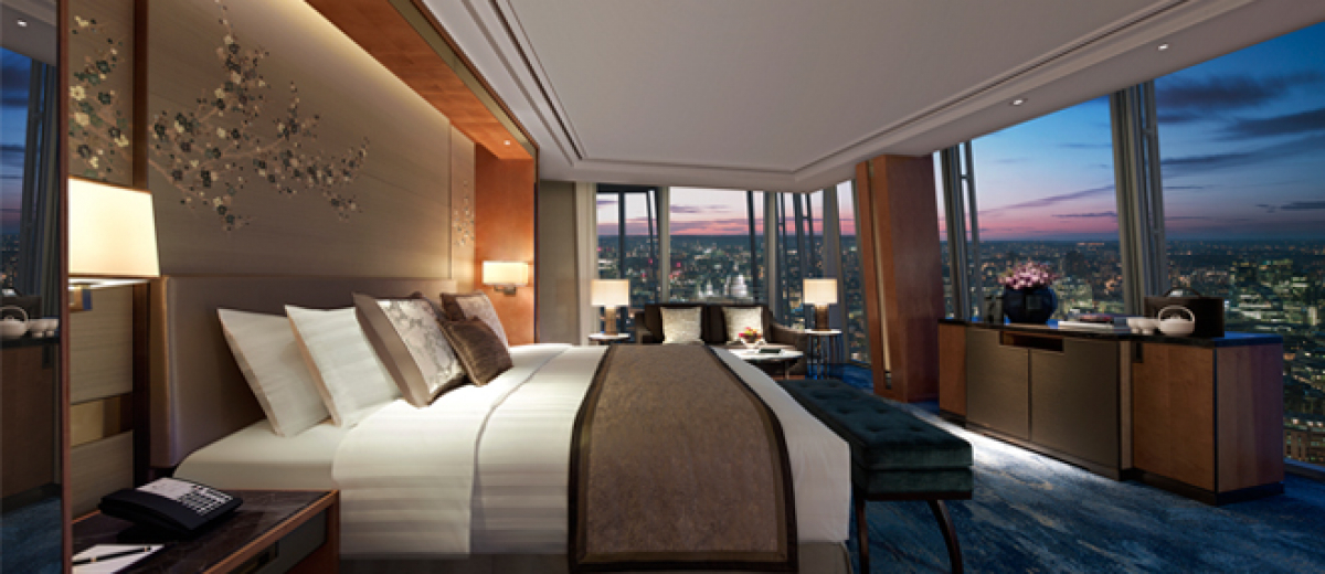 Shangri-La Hotel, At The Shard, London opens
