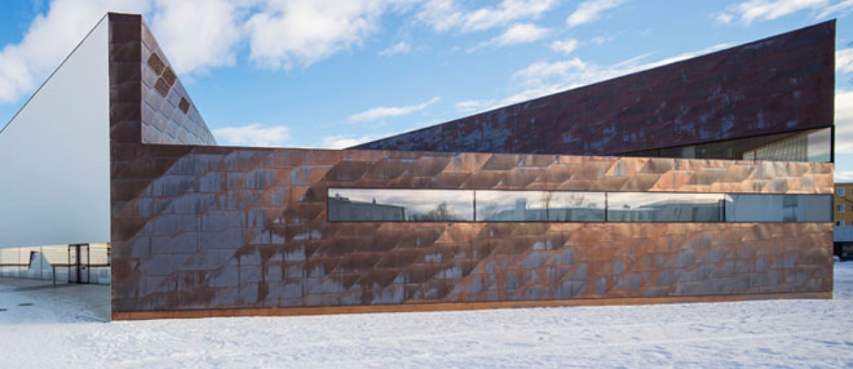 Entries are now invited for the 2015 European Copper in Architecture Awards