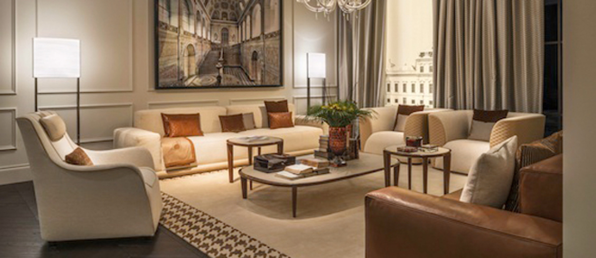 Luxury living opens london flagship store hospitality for Modern furniture stores london