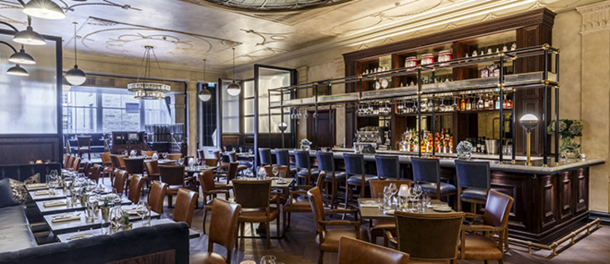 Goddard Littlefair Completes Interior For Edinburgh Restaurant Hospitality Interiors Magazine