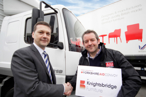 Knightsbridge gets Yorkshire Aid Convoy on the road