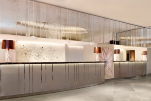 Rare surfaces take centre stage at The Park Tower Knightsbridge
