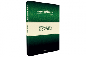 Andy Thornton launches catalogue