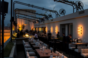 PSLab creates a sense of theatre at rooftop Beirut bar