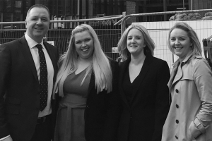 Cycas Hospitality welcomes four new team members to dual branded Manchester hotel