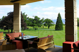 Five-star Scottish resort opens Great Scots Bar Terrace