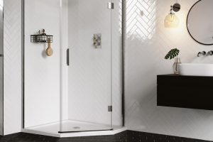 AQATA's new DS500 Quintet shower enclosure