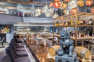 Four Degree brings Japanese fusion food to Vauxhall's waterfront