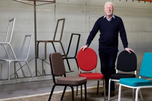 Burgess Furniture launches new take on its original chair for 60th anniversary